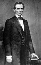 Abraham Lincoln, photograph by Mathew Brady, 1860