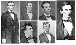 Photos of Abraham Lincoln