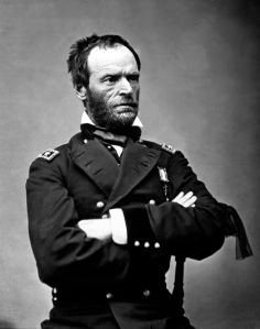 William Tecumseh Sherman, photo by Matthew Brady
