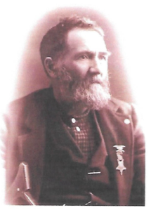 Hans Henry Danielson,  picture taken at the 7th Minnesota 1905 Civil War Reunion